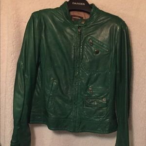 Genuine Leather Bomber Jacket by Danier
